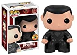 Funko Pop Man of Steel Superman (Black Suit SDCC 2013 Exclusive) by Funko [Toy] (English Manual)