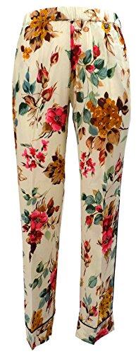 Pantalone Donna TWIN SET SA623P Poliestere Over fiorato Autunno Inverno 2016 Fantasia XS