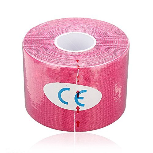 New-500cm-x-5cm-Kinesiology-Tape-Sports-Muscles-Elastic-Therapeutic-Fleshcolor-Waterproof
