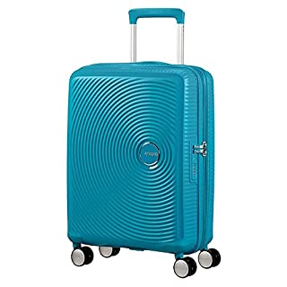 American Tourister Soundbox Spinner Bagaglio a Mano 55 Cm, 41 L, Blu (Summer Blue) (B06Y3W16N6) | Amazon price tracker / tracking, Amazon price history charts, Amazon price watches, Amazon price drop alerts
