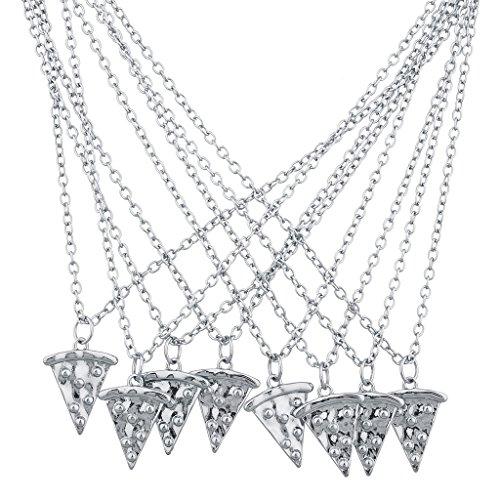 lux-accessori-silvertone-collana-best-friends-forever-bff-pizza-pie-8pc