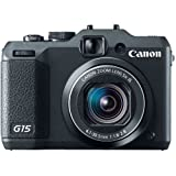 'Canon PowerShot G15Kamera Compact 12.1MP 1/1.7CMOS 4000x 3000pixels schwarz–Digitalkameras (12.1MP, 4000x 3000Pixel, CMOS, 5x, Full HD, schwarz)
