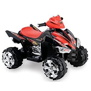 Predatour 9917BK 12 V Electric Battery Powered Kids Quad Bike