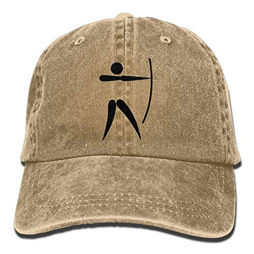 Cowboy Baseball Cap Men&Women Dad Style Hat Archery -