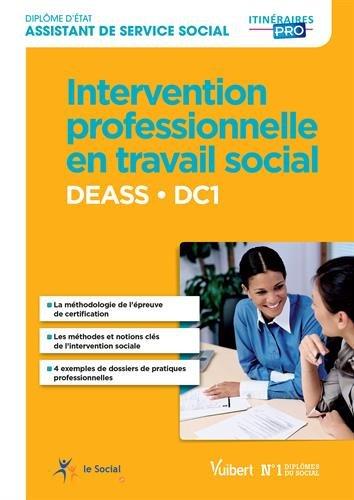 Intervention professionnelle en travail social DEASS-DC1