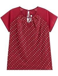 Promod Shirt aus gemustertem Chiffon