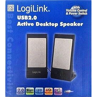 Portable Speaker LOGILINK USB 2.0 for PC laptop Reader MP3