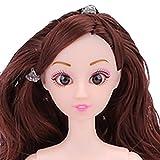 1Puppe + 2Zubehör Toys, mamum Nude Puppe mit Kopf 12Gelenk beweglichen Naked Bodies DIY Toys Zubehör Geschenk Mädchen Einheitsgröße I