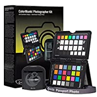 X-Rite ColorMunki Photographer Kit (CMUNDISMSCCPP) Optical System for Color Accuracy & Display Calibration, Compatible with Apple iOS & Android Devices