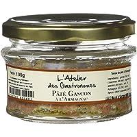 L'Atelier des Gastronomes Pâté Gascon à l'Armagnac 100 g - Lot de 2
