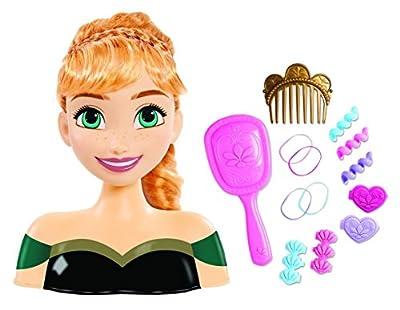 Disney - Frozen: El Reino del Hielo - Princesa Anna - Cabeza Estilo 20 cm con Accesorios de Trends UK