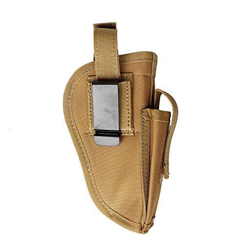 Fondina per pistola pistola Tactical Glock 17 19 21 23 27 40 42 43 .380 Sig P320 1911 Ruger 9 mm Taurus Beretta Compact m & P Shield