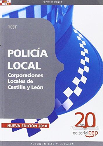 Policía Local Corporaciones Locales de Castilla y León. Test (Colección 523) por Sin datos