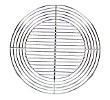 Cook'in garden Grille Ronde Recoupable Gris 55 x 55 x 1 cm GR804