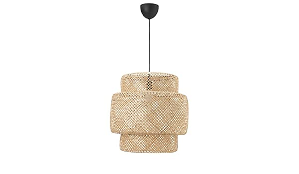Ikea Sinnerlig Hanglamp : Zigzag trading ltd ikea sinnerlig pendant lamp bamboo amazon
