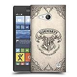 Head Case Designs Offizielle Harry Potter Hogwarts Pergament Sorcerer's Stone I Harte Rueckseiten Huelle kompatibel mit Nokia Lumia 730/735