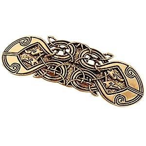 dailymall Irischer Keltischer Entwurfs Glückliche Totem Verschluss Haarspangen Haarspangen Haarnadeln