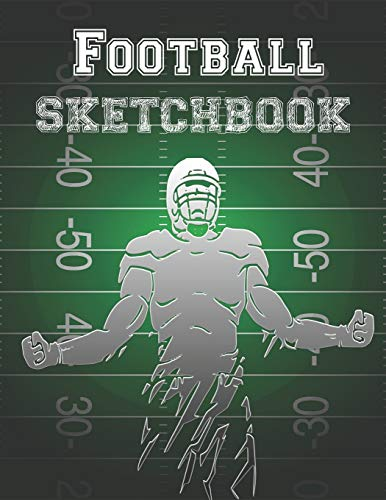 Football Sketchbook: Drawing Book With A Variety Of Sports Frames To Doodle, Write And Sketch - 7 X 10 Rugby