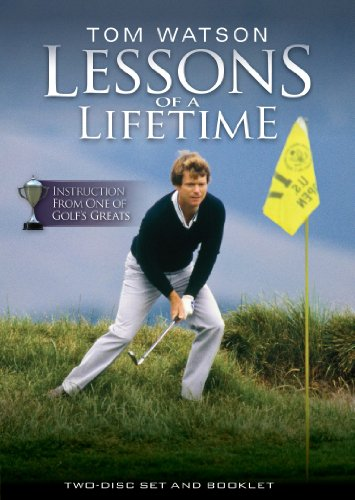 Tom Watson Lessons of a LifeTime Golf 2 Disc DVD - PAL...
