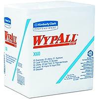 WypAll 6034 X60 Wischtücher (Hydroknit viertelgefaltet), 76 Blatt pro Karton, 12-er Pack