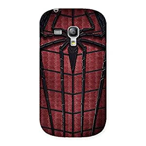 Premium Cloths and Log Back Case Cover for Galaxy S3 Mini