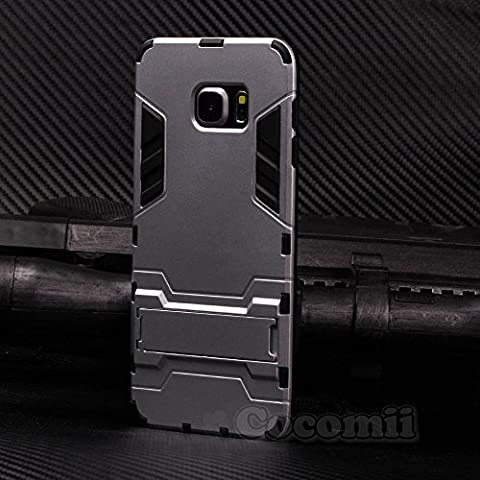 Galaxy S6 Edge Plus Coque, Cocomii Iron Man Armor NEW [Heavy Duty] Premium Tactical Grip Kickstand Shockproof Hard Bumper Shell [Military Defender] Full Body Dual Layer Rugged Cover Case Étui Housse Samsung G928