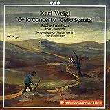 Weigl: Cello Concerto/Sonata [Raphael Wallfisch; John York; Edward Rushton; Konzerthausorchester Berlin; Nicholas Milton] [Cpo: 555189-2]