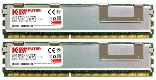 Komputerbay Speicher für HP Workstationx W6400X/W6600X/W8400 (4GB/2x2GB, 667 MHz, DDR2 FBDIMM)