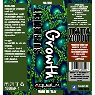 Aqualux Marine Growth 100 ml per 2000 litri