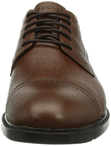 Rockport CS Cap Toe, Chaussures de ville homme Beige (Tan Scotch Grain)