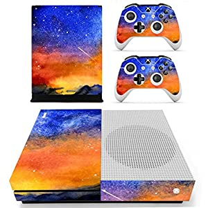 Stillshine Vinyl Skin Decal Full Body Sticker For Microsoft Xbox One S Console & 2 Controllers And Kinect 2.0
