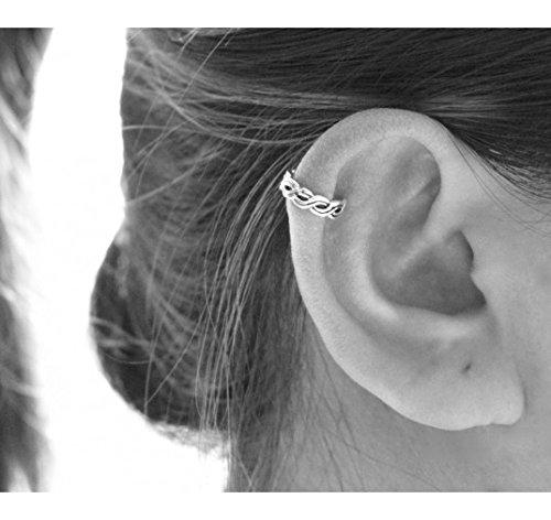 Ear cuff infinity