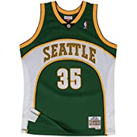 Mitchell & Ness Kevin Durant #35 Seattle SuperSonics 2007-08 Swingman NBA Jersey Green, M