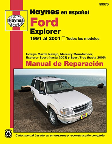 Ford Explorer: 91-01 (Manual De Reparacion) por Haynes Publishing