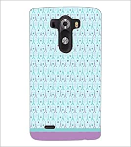 PrintDhaba Tower Pattern D-1804 Back Case Cover for LG G3 (Multi-Coloured)