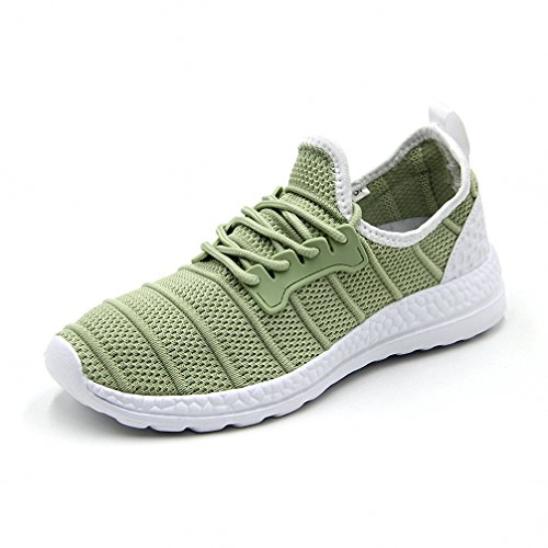 Womens Outdoor Sports Running Shoes Fashion Mesh Sneakers Green 36-47