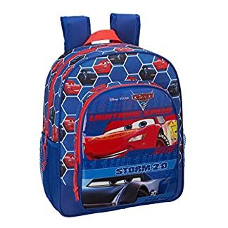 Safta Mochila Escolar Junior Cars 3 Oficial 320x120x380mm