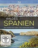 Wildes Spanien - Der meditarrene Süden / Der atlantische Norden [Blu-ray] - Mit DavidNathan