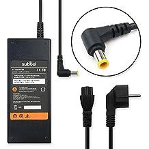 subtel® Fuente de alimentación (19.5V,92W) para Sony VAIO SVF14 Fit / SVF15 Fit (2.2m) cable de corriente Cargador ordenador portatil