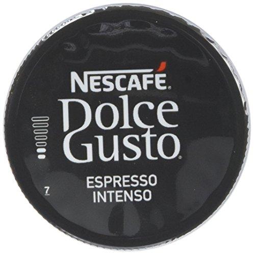 Nescafé Dolce Gusto Espresso Intenso Caffè Espresso 6 confezioni da 16 capsule (96 capsule) 75