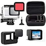 TEKCAM Accessories Kit With Shockproof Small Travel Case Bundle For GoPro Hero 5 Black,Outdoor Sport Kit As A Gift