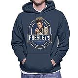 Coto7 Elvis Presleys Tennessee Peach Brandy Men's Hooded Sweatshirt