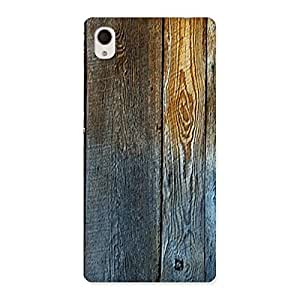 NEO WORLD Remarkable Wall Bar Wood Back Case Cover for Xperia M4 Aqua