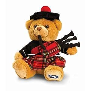 Keel Toys 19Cm Scottish Piper Hug Me Bear