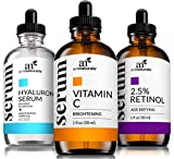 ArtNaturals Anti-Aging-Set with Vitamin-C Retinol and Hyaluronic-Acid-Serum - (3 x 30ml) Serum