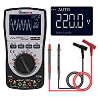 shengshiyujia Upgraded MT8206 2in1 Intelligent Digital Oscilloscope Multimeter Current Voltage Resistance Tester with Analog Bar Grap