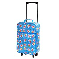 Slimbridge Barcelona Ultra Light 0.95 kg Travel Carry On Cabin Hand Luggage Kids Suitcase with 2 Wheels, Approved for Ryanair, EasyJet, British Airways, Virgin, Flybe, Wizzair and Many More