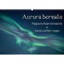 Aurora borealis - Magische Polarlichtnächte in Island und Norwegen (Wandkalender 2018 DIN A2 quer): Zauberhafte Polarlichter am Himmel über Island und ... (Monatskalender, 14 Seiten ) (CALVENDO Natur)
