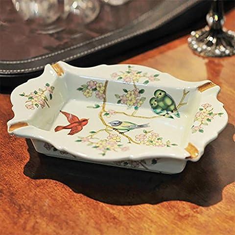 YONG Portacenere posacenere di porcellana d'epoca decorati