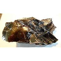 Boviswert EDEL SCHUNGIT, seltene große Brocken, 136,85g, 7x4x3cm, schön und kraftvoll, aus Karelien, mit Zertifikat! preisvergleich bei billige-tabletten.eu